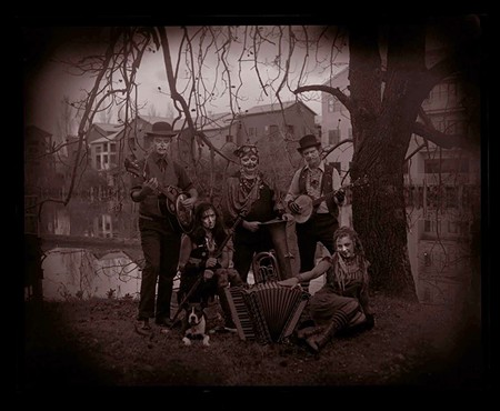MUSIC OF THE NIGHT Thee Hobo Gobbelins get spooky at the Arlene Francis Center on Halloween.
