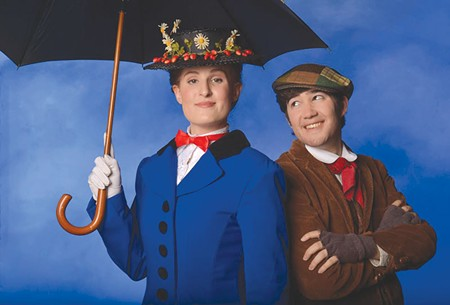 SUPER NANNY Alanna Weatherby plays Mary Poppins in a script by Julian Fellowes. - TOM CHOWN