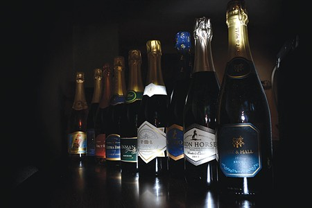 BUBBLES IN PARADISE For our annual lineup of sparkling wine, we go off the beaten path.