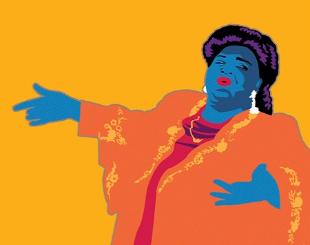 LARGER THAN LIFE The great Mahalia Jackson comes alive in new Cinnabar Theater production.