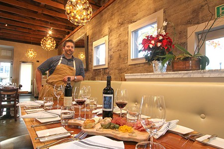 FAMILY AFFAIR Chef Dustin Valette (pictured) oversees the kitchen at Valette, while brother Aaron Garzini helms the dining room. - PHOTO COURTESY VALETTE