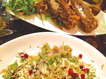 NEW DELHI The avocado chaat and lamb and cheese are two great appetizers. - FLORA TSAPOVSKY