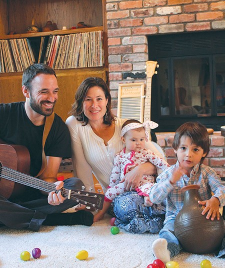 MUSIC MAKERS Warren Mann and Ali Weiss strive to 'share the joy that music can bring out.'
