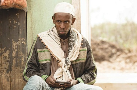 I SEE YOU Barkhad Abdi tries to look discreet as he pilots a snooping, bug-size drone to root out terrorists in Gavin Hood's new thriller.