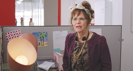 MAKING EYES Sally Field shines as a smitten senior in new comedy.