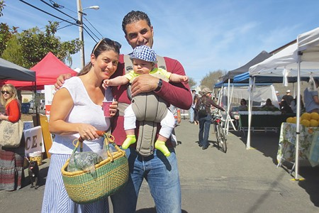 BRING THE KIDS The West End Farmers Market offers a family-friendly atmosphere and fresh local produce. - LEA BARRON-THOMAS