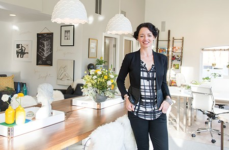 BUZZING Grace Kraaijvanger's Hivery in Mill Valley offers coworking to an all-female clientele.