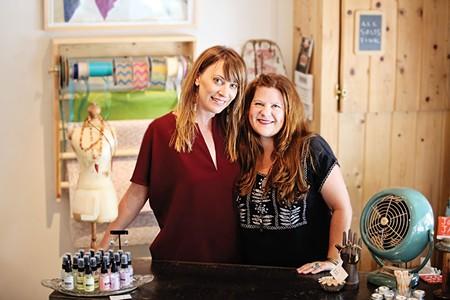 JAMMIN'  Jam Jar's Molly Perez, left, and Jamie Jeane Wilson are part of Santa Rosa's SOFA district arts scene.