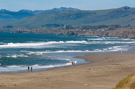 PAY PER VIEW  Sonoma Coast State Beach at Salmon Creek—home of a would-be iron ranger.