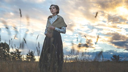 THE COUNTRY LIFE  Agyness Deyn takes in the sights in Terence Davies' new film.