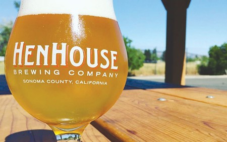 BREW WITH A VIEW  HenHouse Brewing Company's new taproom boasts a friendly setting and outdoor seating.
