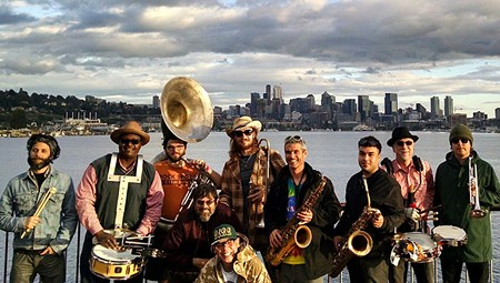 FUNK IT UP up North Bay brass band releases their first album.