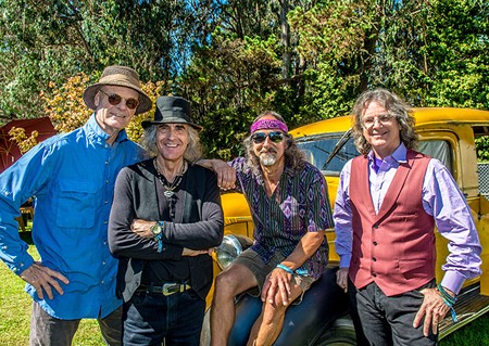 MOONSTRUCK Classic psychedelic rockers Moonalice play to the tribe. - BOB MINKIN