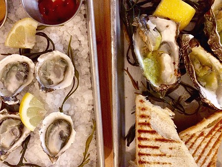 AW, SHUCKS  Oysters are featured on the Shuckery menu, but chef Seth Harvey's menu dives deeper into seafood.