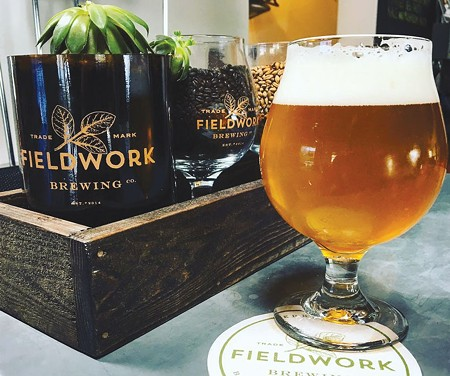 CRAFTY MOVE  Fieldwork's expansion to the North Bay is part of a growing beer scene in Napa.