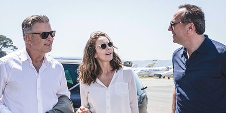 ROAD TRIP  Alec Baldwin, left, Diane Lane and Arnaud Viard star in Eleanor Coppola's feature-film debut 'Paris Can Wait.'