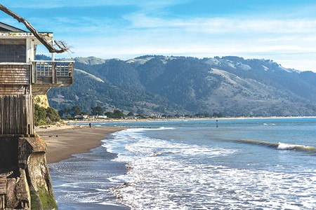 THE VIEWS AREN'T FREE  But a reimagined, short-term rental platform in Bolinas and the North Bay at large might make them more affordable.