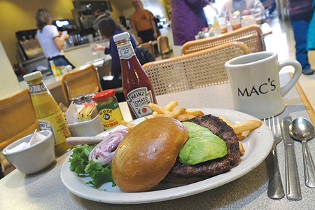 SAME AS IT EVER WAS  Mac's has served a timeless menu of deli classics since it opened in 1952. - RORY MCNAMARA