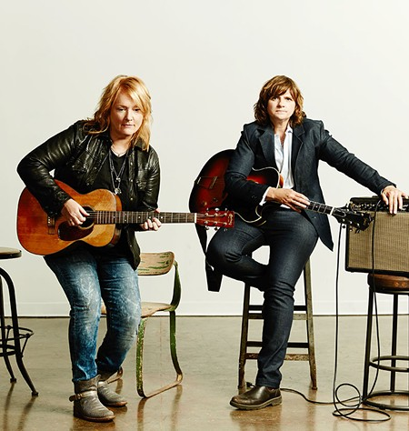 MUSICAL STORIES Indigo Girls aim to make music with a personal perspective, not politics.
