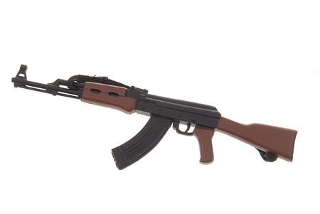 THE WEAPON  Is this a real AK-47 or a toy replica?*