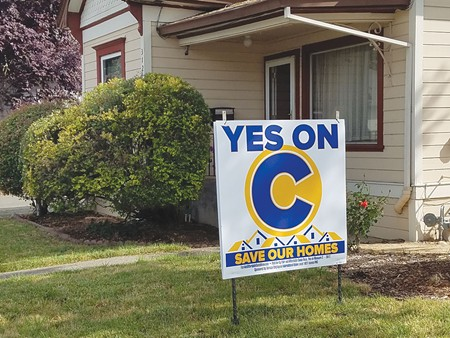 OR, VOTE NO  Santa Rosa is split over controversial rent-control ordinance.