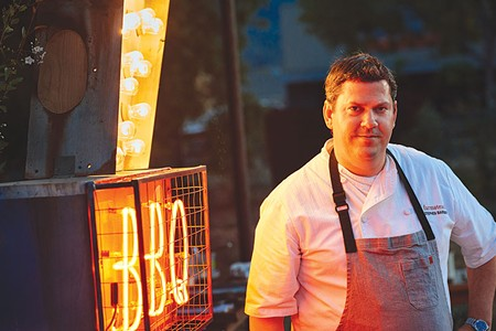 FARM FRESH  Stephen Barber's guest chef series works kind of like a culinary version of a tribute album.