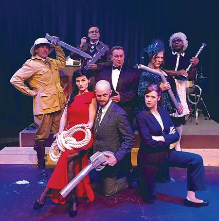 WHODUNNIT? The audience - helps solve the stage mystery of 'Clue: The Musical.'