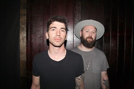 NATIVE BORN Justin Altamura and Thomas Fine trade guitars for synths on new album.