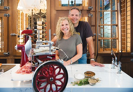 MEAT ME AT THE BAR  Cathy and Pete Seghesio broaden their legacy with new butcher shop and salumeria.