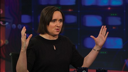 WORD NERD 'Basically, I never really know what's going to happen,' says Sarah Vowell.