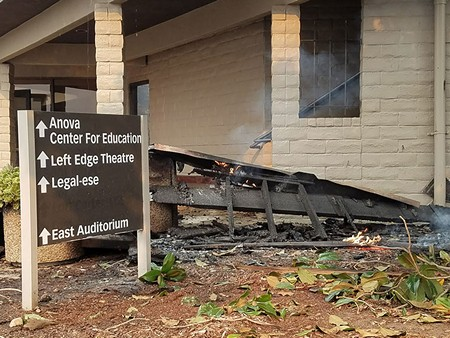 SHOW STOPPER Flames damaged many North Bay theaters, but they're not leaving the stage.