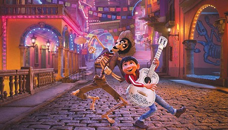 MADE IN SEBASTOPOL A careful viewing of 'Coco' will reveal images drawn from Michael Anthony Carnacchi's Sebastopol boot shop.