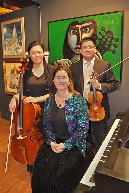 CLASSICAL NYE  Members of the San Francisco Symphony - perform at the Petaluma Museum.