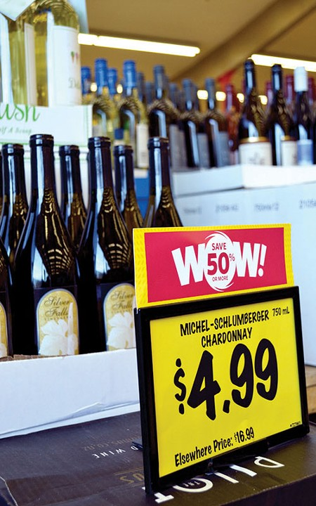 WHAT A DEAL You never know - what you'll find on the shelves at Grocery Outlet.