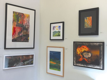 AFTER THE FIRES  Several local artists contributed to Santa Rosa Arts Center's first show last month.