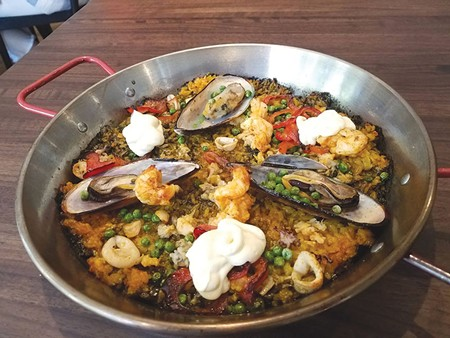 PAN-TASTIC  Long a favorite of festivals and farmers markets, Gerard's Paella now has a restaurant to call its own.