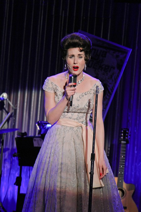 CRAZY FOR YOU Danielle DeBow is outstanding as the late Patsy Cline. - ERIC CHAZANKIN