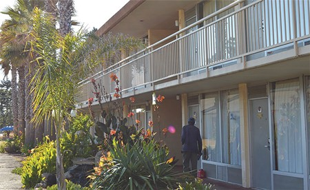 ONE OF A KIND  Santa Rosa's Palm Inn serves a vulnerable, formerly homeless population in a unque private- - nonprofit partnership to provide 'housing first.'