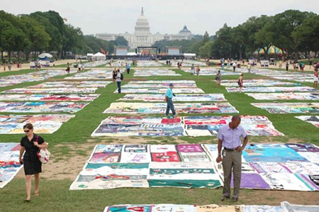 QUILT OF CONCERN  Cleve Jones has sewn together a career in HIV-AIDS and organized-labor activism.