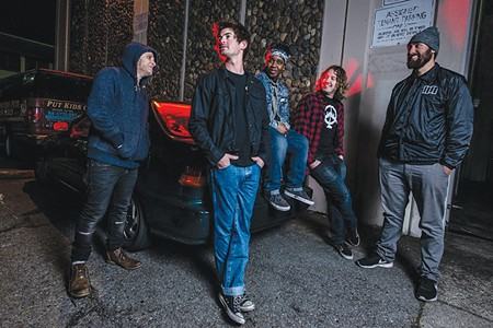 SCREAM AND SCREAM AGAIN Modern Monsters make their presence known in Santa Rosa with a show this week at Whiskey Tip. - TONY CONTINI