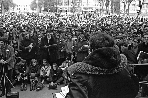 An Earth Day celebration at the University of Michigan in 1970. - UNIVERSITY OF MICHIGAN SCHOOL FOR ENVIRONMENT AND SUSTAINABILITY/FLICKR