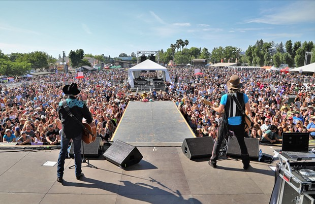 Country Summer normally packs the Sonoma County Fairgrounds with country music lovers each June, though the festival is postponed until next year due to Covid-19. - PHOTO COURTESY COUNTRY SUMMER'S FACEBOOK PAGE.
