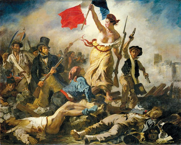Painting by Eugène Delacroix.