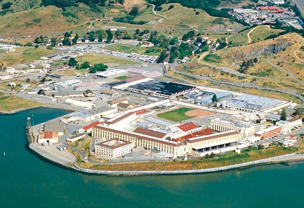 OUTBREAK  There are currently over 500 active Covid-19 cases at San Quentin State Prison. - TIM RODENBERG/FLICKR