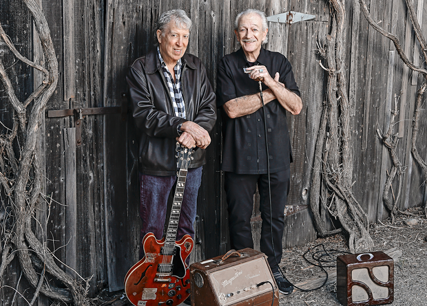 FRIENDS WITH BLUES Elvin Bishop and Charlie Musselwhite make their album debut as a duo after many years of friendship. - STEVE JENNINGS/ COURTESY ALLIGATOR RECORDS