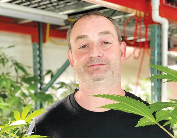 BJ Hughes uses Instagram for his cannabis business.