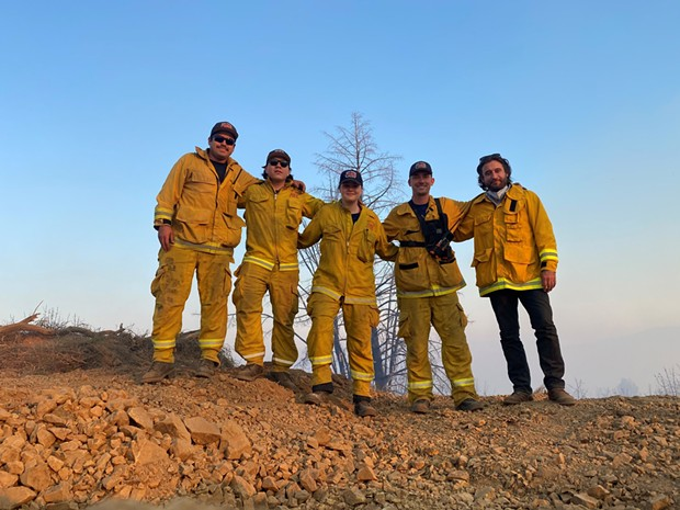 Firefighters from the Rutherford Fire Department will Join Kathryn Hal for wines and laughs on Friday, Oct. 16.