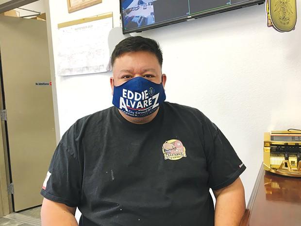 Eddie Alvarez, proprietor of The Hook, is running for Santa Rosa City Council.