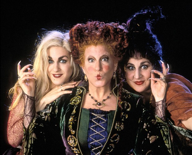 """WITCHY WOMEN The 1993 cult-classic """"Hocus Pocus"""" screens outdoors in Cloverdale and indoors in St. Helena this month."""