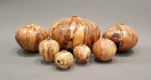 """Turned Vessels"" by John Cobb displays virtually as part of Museum of Sonoma County's ""Artistry in Wood"" exhibition."